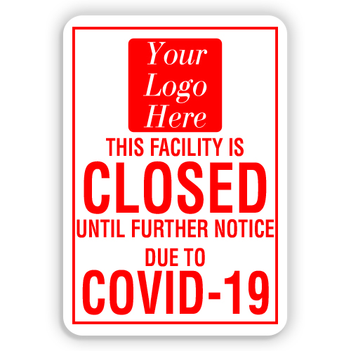 Home /& Colleagues 18 x 12 OS-NS-A-1218-25504 Made in The USA Protect Your Business SignMission COVID-19 Notice Sign Aluminum Sign Municipality Park Here for Curbside Pick-up