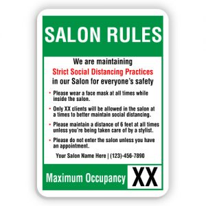 Salon Signs